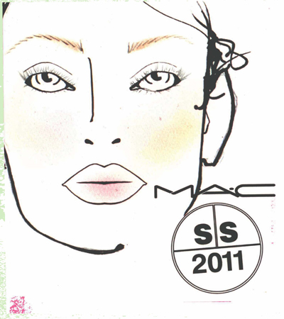 Fashion Forecasting 2012 Spring Summer on Mac Spring Summer 2011 Makeup Mfy Fashion Week Tom Pecheux